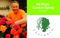 How to create an All Rose Casket Spray
