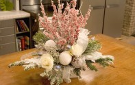 How to Create A Snow Covered Winter Centerpiece