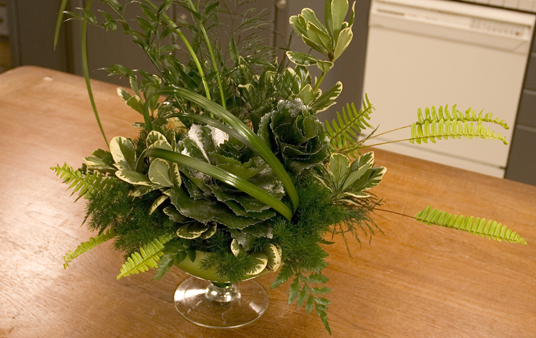 How To Create An All Foliage Arrangement How To Create A