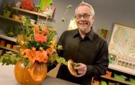 How to make a Flower Filled Pumpkin Arrangement!