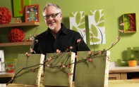 How to Create Wall Art from Styrofoam and Scrapbook Paper!