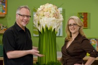 How to Create a Calla Tower Arrangement!