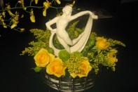J shares his FUN Arranging Flowers Program with the Local Beta Sigma Phi Sorority!