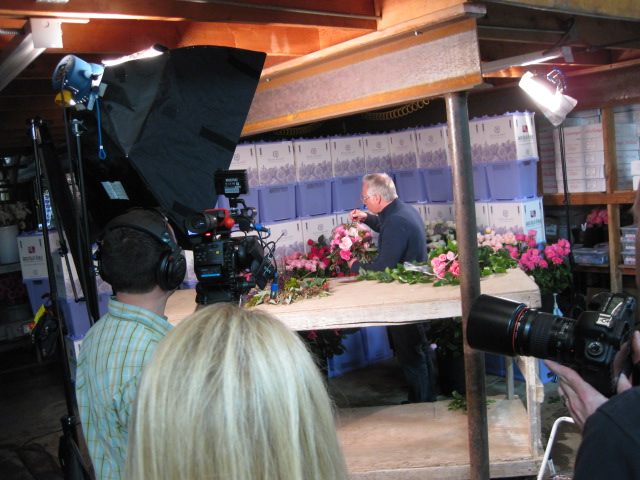 J Schwanke Creating a Wedding Bouquet with David Austin Roses from Green Valley Floral