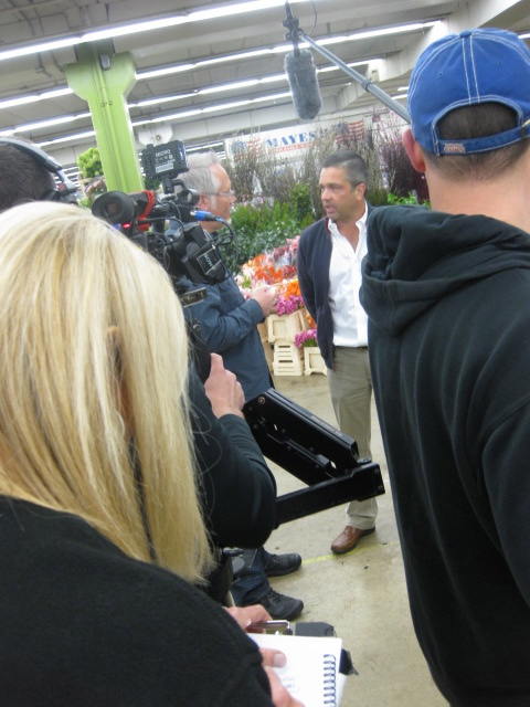 J Interviews several of the Mayesh Customers during the CA Grown Experience Visit to Mayesh Wholesale