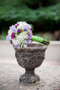 Flower bouquet created by Kristi Landphere