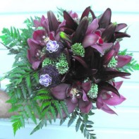 Cymbidium Bridal Bouquet project by Erik Witcraft