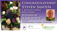 Club uBloom Member Steven Santos...IFN's Day with J Winner!