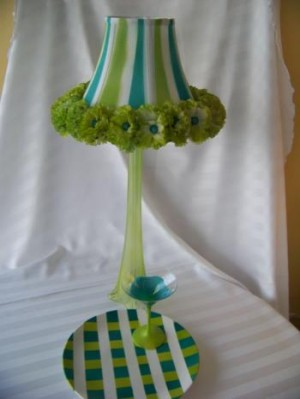 Table Top Decor project for uBloom by Cynthia P Ross