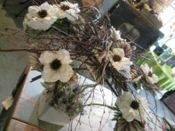 Woodland-Anemone Tablecenter project by Christopher Grigas