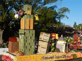 Cal Poly Float... FIRST CA GROWN Certified Float 2012