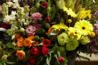 Creating a Bouquet from the Bounty of CA GROWN Flowers