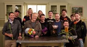 The JTV Crew making Flower Magic for YOU!