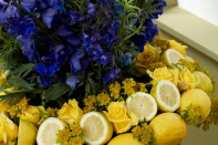 How to create a Fruit and Flower Arrangement