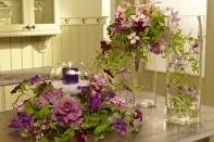 How to Use Cut Clematis in Wedding and Event Arrangements