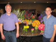 "J and Steven on one of their ""Day with J"" floral adventures!"