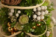 How to Decorate a Boxwood Miniature Christmas Tree