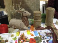 Burlap... Everything... from my BEST of BURLAP Demo in Dallas!