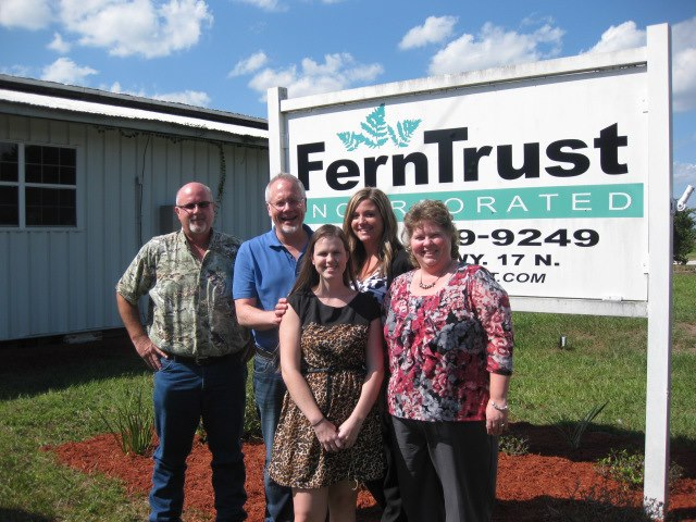J with David & Victoria Register at the FernTrust Packing House