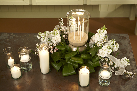 How to create a Hurricane Vase Centerpiece for a Special Event