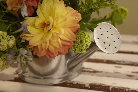 How to Arrange Flowers- Making an Arrangement in Flower Foam