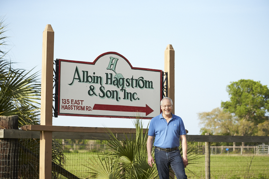 On Hagstrom Road... heading to Albin Hagstrom & Son.. to meet another 4th Generation Flower Industry LIFER!!!