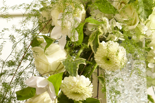 How to Arrange Flowers- Cascade Bridal Bouquet with Ivy & (Thornless) Sprengeri