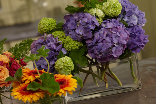 How to arrange flowers_Break-away Centerpieces