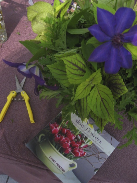 Debra Prinzing's Slow Flower Book at Epcot in 2013!