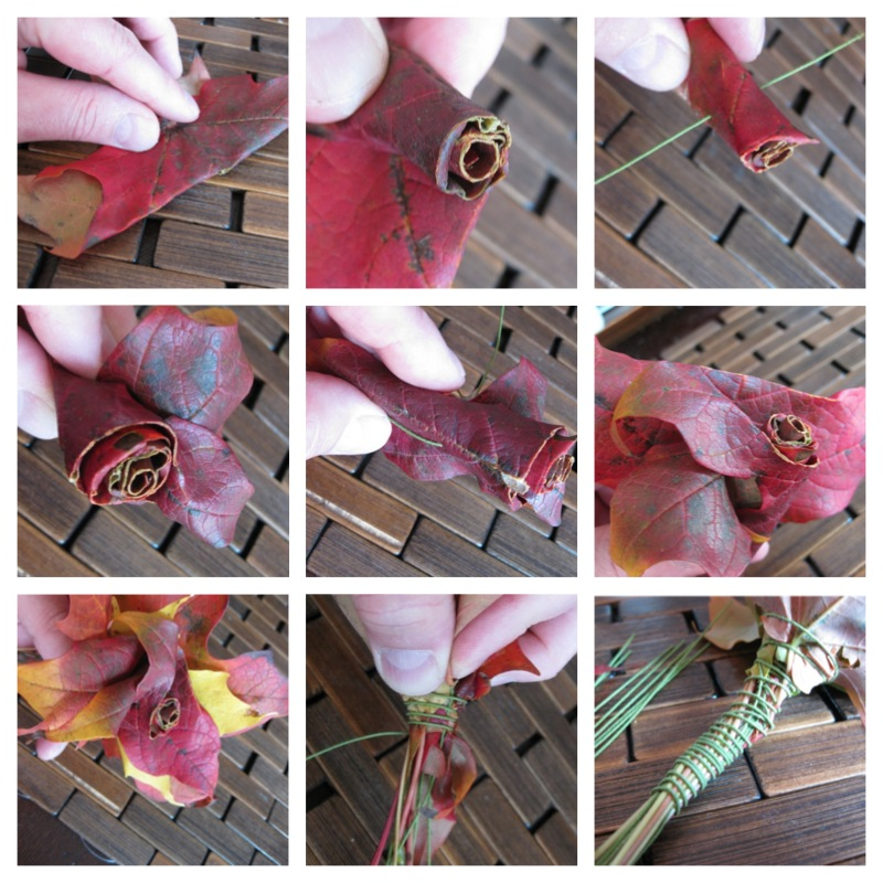 Leaf Rose Hot-To Steps