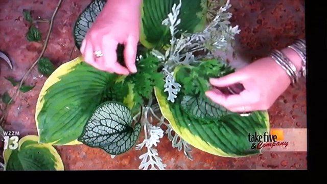 Take 5 with J - Garden Flower Arrangement
