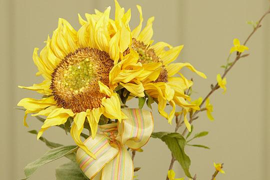 How to Arrange Flowers_Arranging Permanent Botanical Flowers