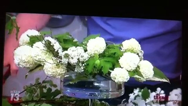 Take 5 with J - Arranging Spring Garden Flowers