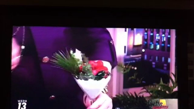 Take 5 with J - Christmas Cocktails with FLOWERS