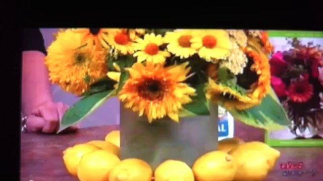 Take 5 with J - Lemonade Arrangement