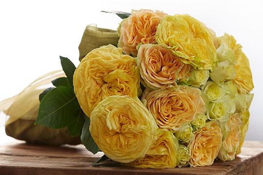 How to Arrange Flowers_Hand Tied Wedding Bouquet