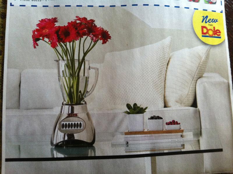 Unexpected flower Vase- Blender