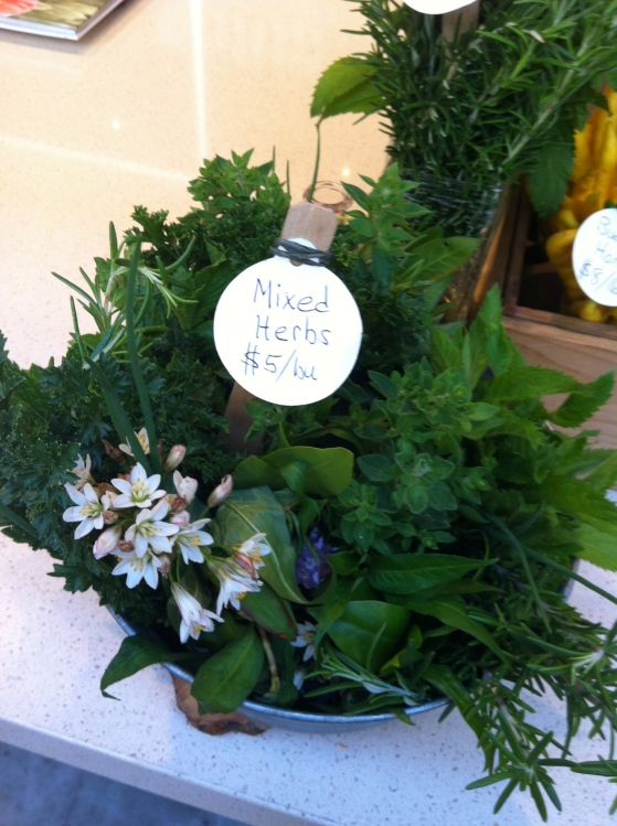 Herb Bouquet for the Kitchen