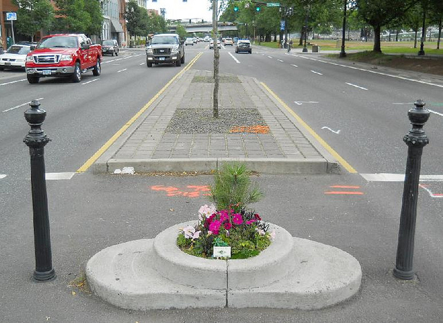 Portland boasts smallest park!