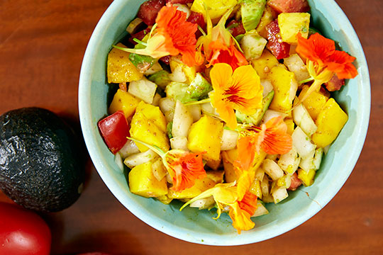Kim Carson's Mango Avocado Salad