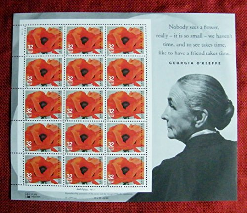 Poppy Postage Art
