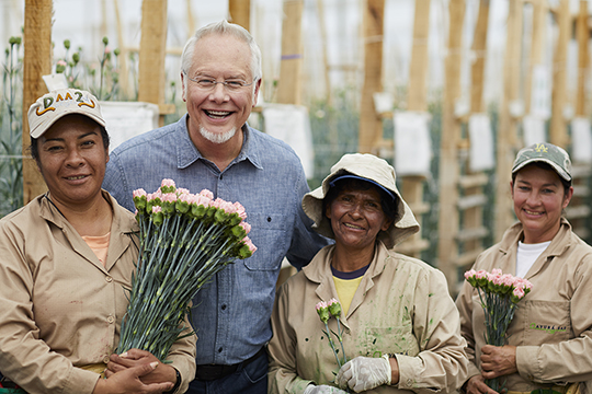 The Flowers of Colombia on uBloom - The People behind the Flowers!