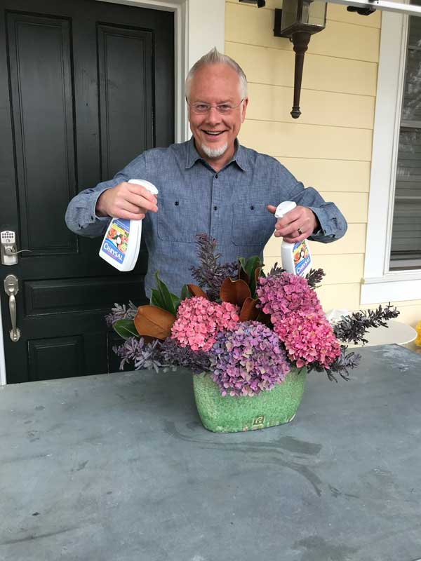 Hydrangeas with P Allen Smith