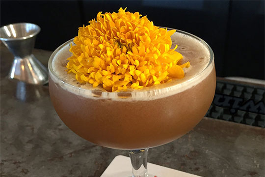 This Flower inspired cocktail is featured on J Schwanke's Life in Bloom!