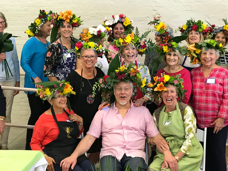 Smiles, Laughter and Flower Crowns with the Boca Grande Garden Club