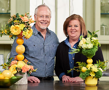 My WZZM TV Friend Catherine Behrendt stops by to create Fruit Kabobs on Life in Bloom!