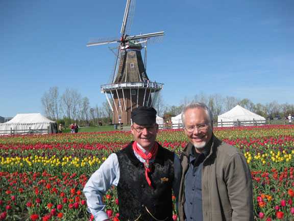 J visits Tulip Time in Holland Michigan- the largest tulip festival in North America!