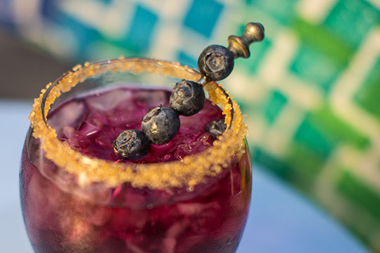 Try this Blueberry Inspired Cocktail from J Schwanke's Life in Bloom!