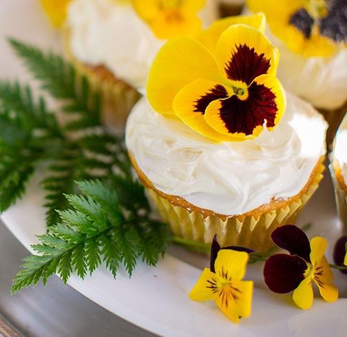 Edible Sugar Flowers is the Recipe in Bloom this week on Life in Bloom!
