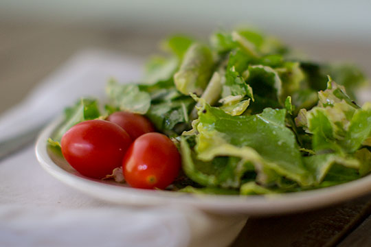 My Simple recipe for a quick and easy salad with any type of Kale!